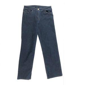Eileen Fisher Straight Leg Jeans Sz Small